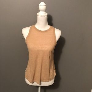 Racerback Cotton Tank Top